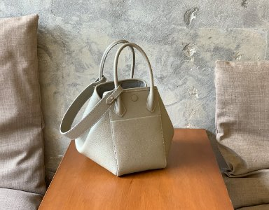 HEXIE BAG M_ beige gray