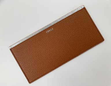 LUCKY WALLET_ camel brown