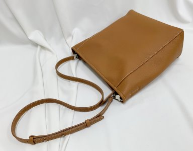 BASKET BAG M_ camel