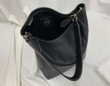 BASKET BAG M_ black