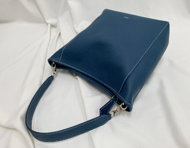 BASKET BAG M_ royal blue